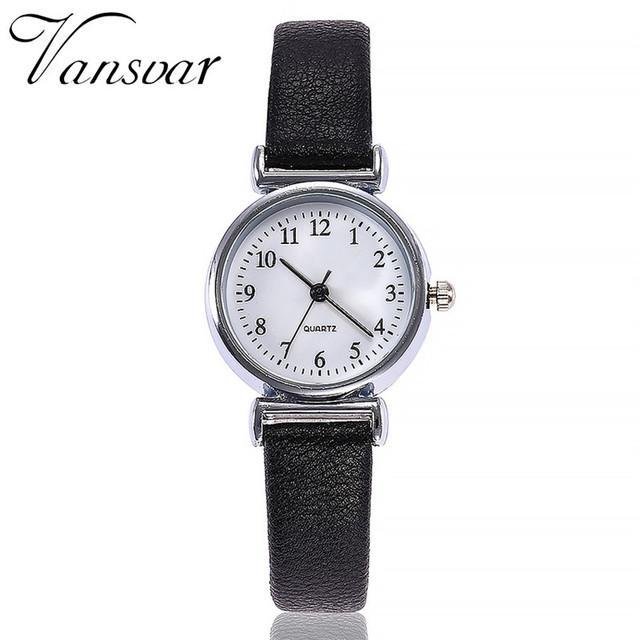 Fashion Watches Women Retro Small Dial Simple Casual Watch High Quality Women Quartz Wristwatch relogio feminino clock Gift #C