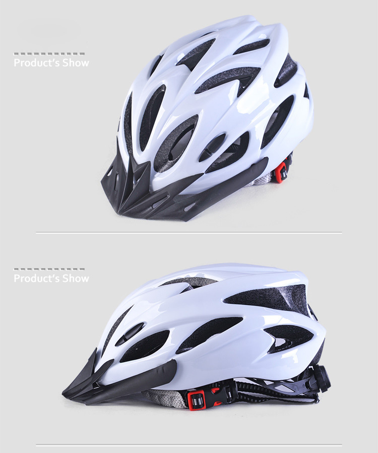 220g Ultralight Bicycle Helmet CE Certification Cycling Helmet In-mold Bike Safety Helmet Casco Ciclismo 56-62 CM-15
