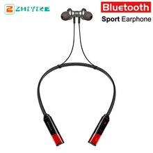 Спортивные Беспроводной Bluetooth наушники Водонепроницаемый устойчивое бас наушников Шум Отмена складной вкладыши гарнитура с микрофоном стерео