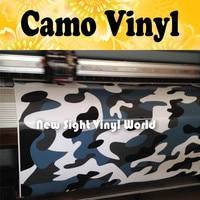 Jumbo Blue Urban Night Camouflage Vinyl Wrap Film Blue Urban Camo Vinyl Car Wrap Air Drain Vehicle Wraps Size:1.50*30m/Roll