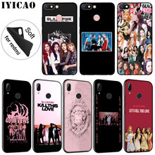IYICAO blackpink kill this love Soft Silicone Phone Case for Xiaomi Redmi K20 7A 6A 5A S2 4X 4A GO Note 8 7 5 Plus 6 Pro Cover