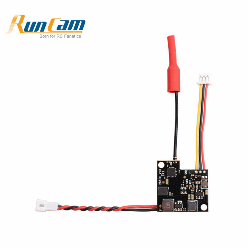 RunCam TX200 5.8G 48CH Raceband 25mW/200mW Video FPV Transmitter for Nano/Micro Sparrow/Micro Swift 2 Camera Replace Part RC Toy original aomway rx006 dvr video recorder 5 8g 48ch diversity raceband a v receiver for rc multicopter antenna transmitter part