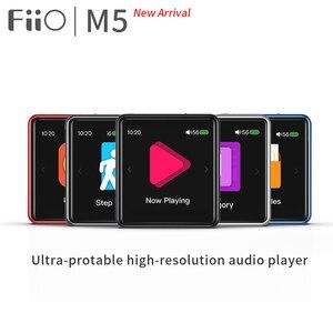 Image 1 - FiiO M5 AK4377 32bit/384 kHz DAC مرحبا الدقة بلوتوث شاشة تعمل باللمس MP3 مشغل موسيقى مع aptX/LDAC ، USB الصوت والمكالمات الدعم