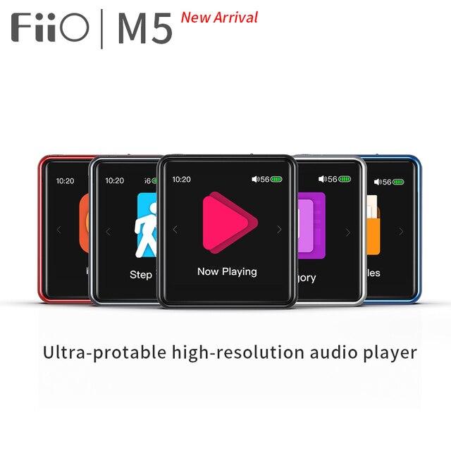 FiiO M5 AK4377 32bit /384kHz DAC Hi Res Bluetooth Touch Screen MP3 Music Player with aptX/LDAC, USB Audio and Calls Support