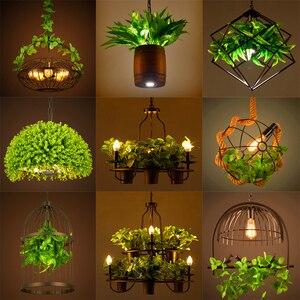 Lámpara colgante de tetera de estilo de campo, lámpara colgante de hierro forjado de forma cuadrada o redonda, para restaurante, cafetería, bar, jardín, lámpara colgante