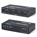 New Best OEM HDMI Splitter Box Full HD 1X4 4 Port Hub Repeater 3D 1080P