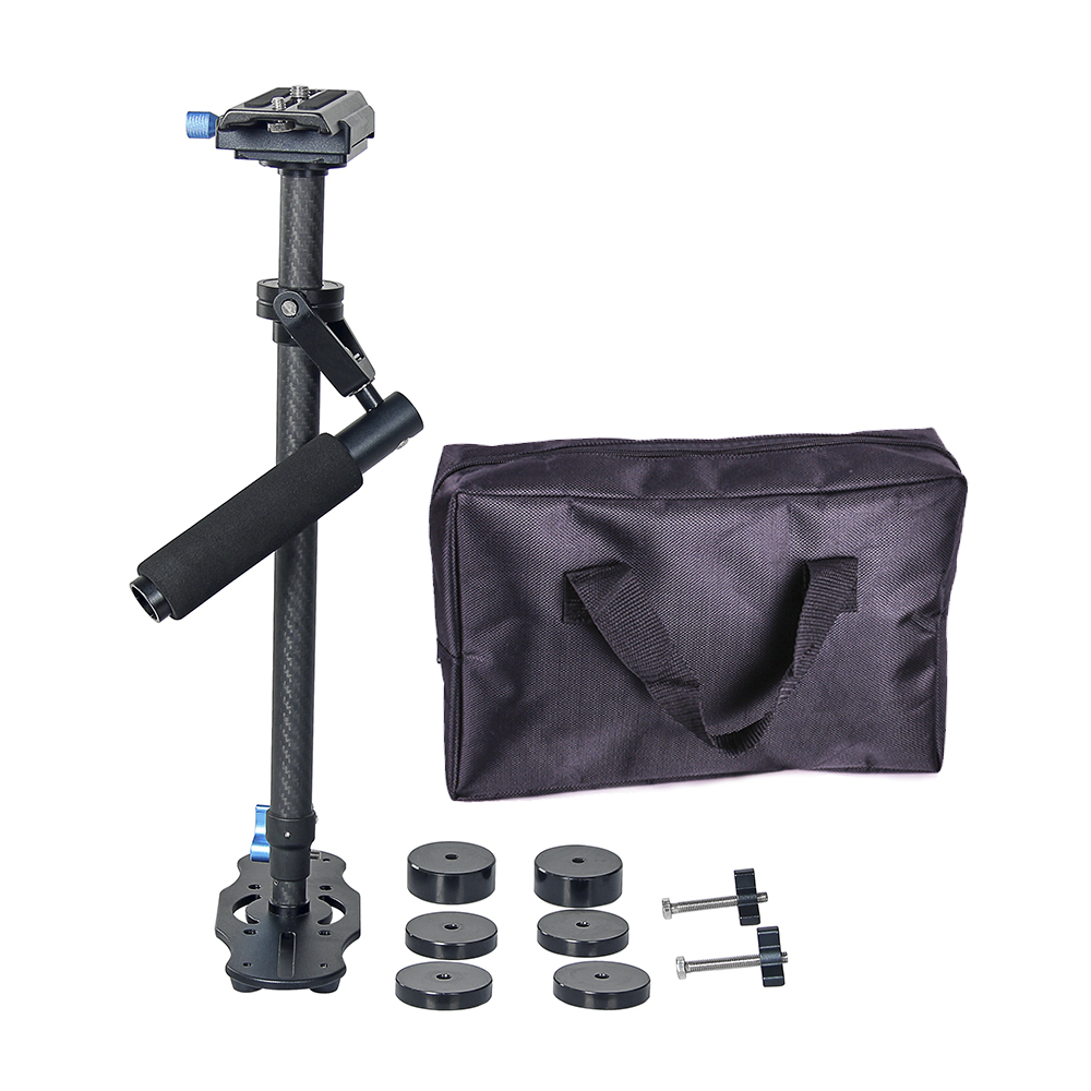 DSLR S40T carbon fiber 5D2 Professional handheld Camera stabilizer gopro rig DSLR mini steadicam AEE video steadycam glidecam ashanks mini carbon fiber handheld