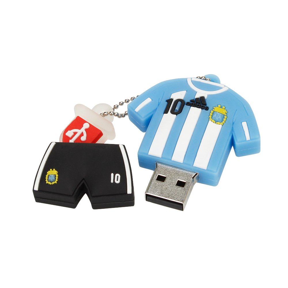 Image 5 - Pendrive Barcelona Soccer Jersey Usb Flash Drive 4GB 8GB 16GB 32GB Barca Messi USB 2.0 Pen Drive 64GB 128GB Memory Stick U Disk-in USB Flash Drives from Computer & Office