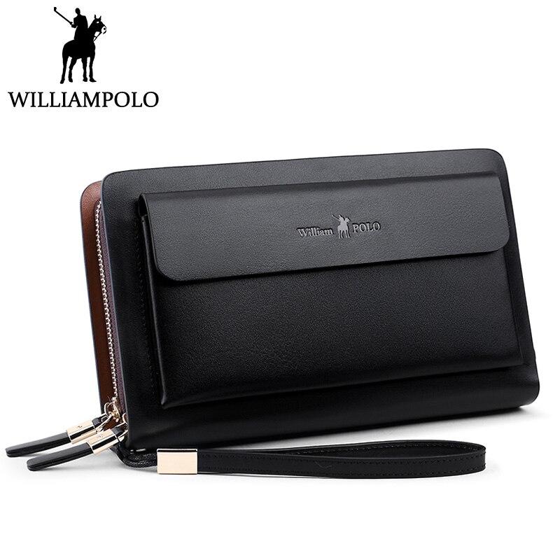 WILLIAMPOLO Handbag Business Clutch Bag
