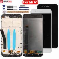 Per Xiao mi mi A1 mi A1 display lcd + Touch SCREEN di Alta Qualità di Nuovo Digitizer pannello Di Vetro Dello schermo Per xiao mi mi A1 mi 5X mi 5X LCD