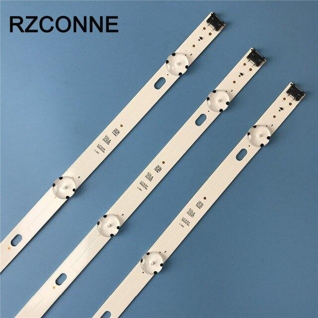 Led backlight strip 7 lamp for LG Innotek 17Y 43inch_ A Type LC43490059A 43UJ634V 43UJ630 43UJ630 ZA 43UJ6309 HC430DGG SLTL13