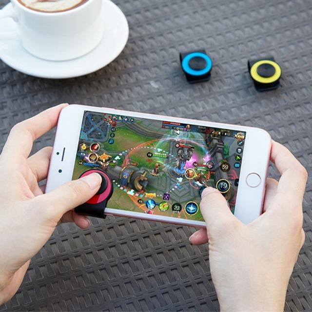 EKIND Joysticks Game Button For Mobile Phone Game Rocker Joypad Tablet Controller With Clip Random Color