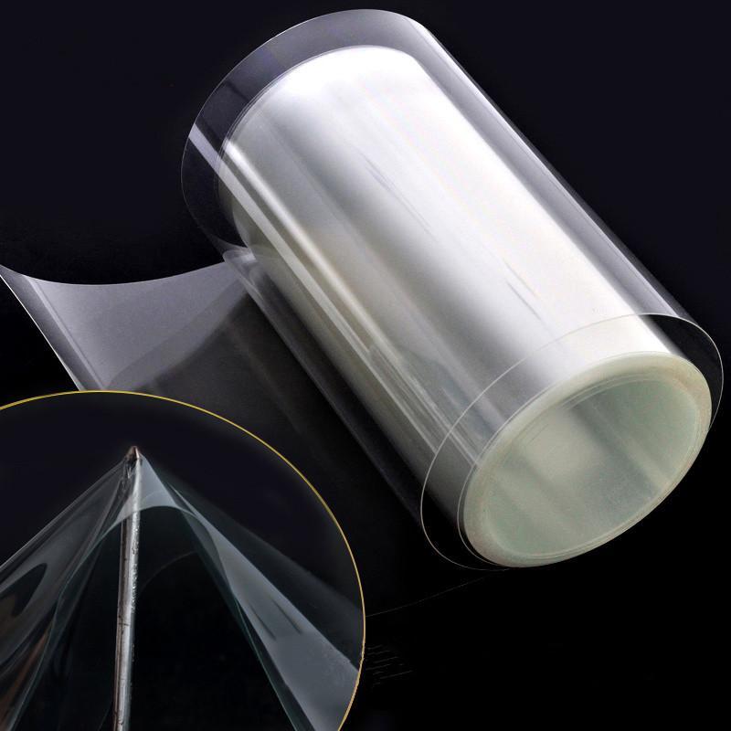 SUNICE 50cm x 500cm autocollants de voiture 100% transparence 3 couches PPF voiture peinture protéger Film voiture protéger Film - 5