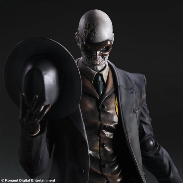 1/6 scale figure doll Metal Gear Solid V The Phantom Skull Face.12 action figures doll.Collectible figure model toy 1 6 scale model metal gear solid v the phantom d dog diamond dog about 23cm collectible figure model toy gift