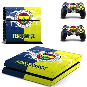 Image 5 - Fenerbahce Spor Kulubu Football PS4 Skin Sticker Decal Vinyl for Sony Playstation 4 Console and 2 Controllers PS4 Skin Sticker