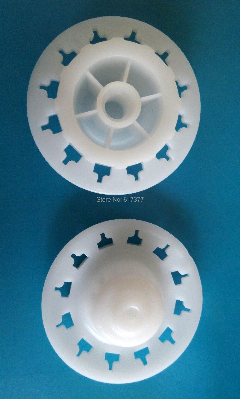 Soft Pack Sealant Plastic Push Disk Plastic Push Plate