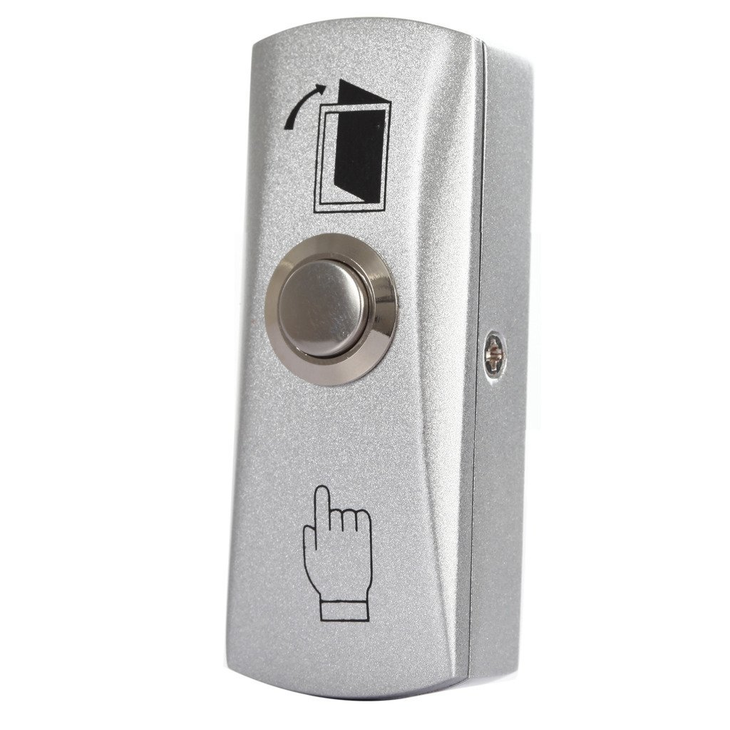 Stainless Steel Door Exit Release Push Button Home Switch Panel Part of Access Control system