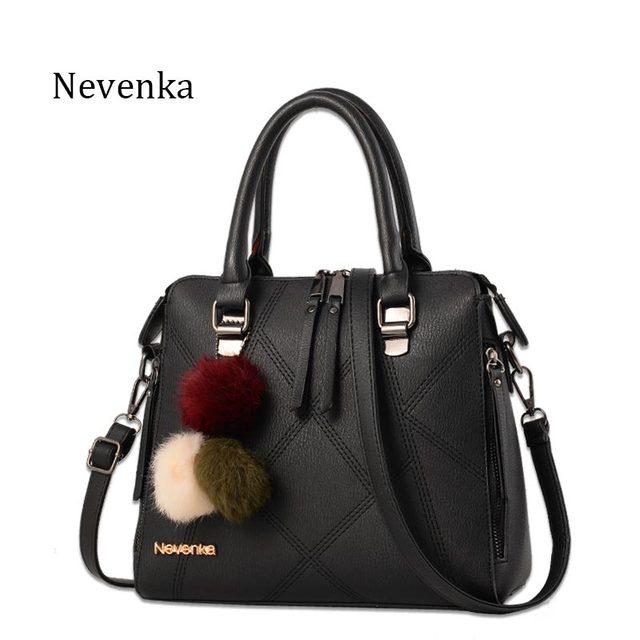 Nevenka Women Bag Network Casual Tote Evening Bags Brand Fashion Handbag  Female Pu Leather Handbags Lady Bag Top-Handle Bags Sac 52dfe8c03d2db