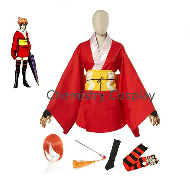 Compare Prices On Gintama Kagura Cosplay- Online Shopping