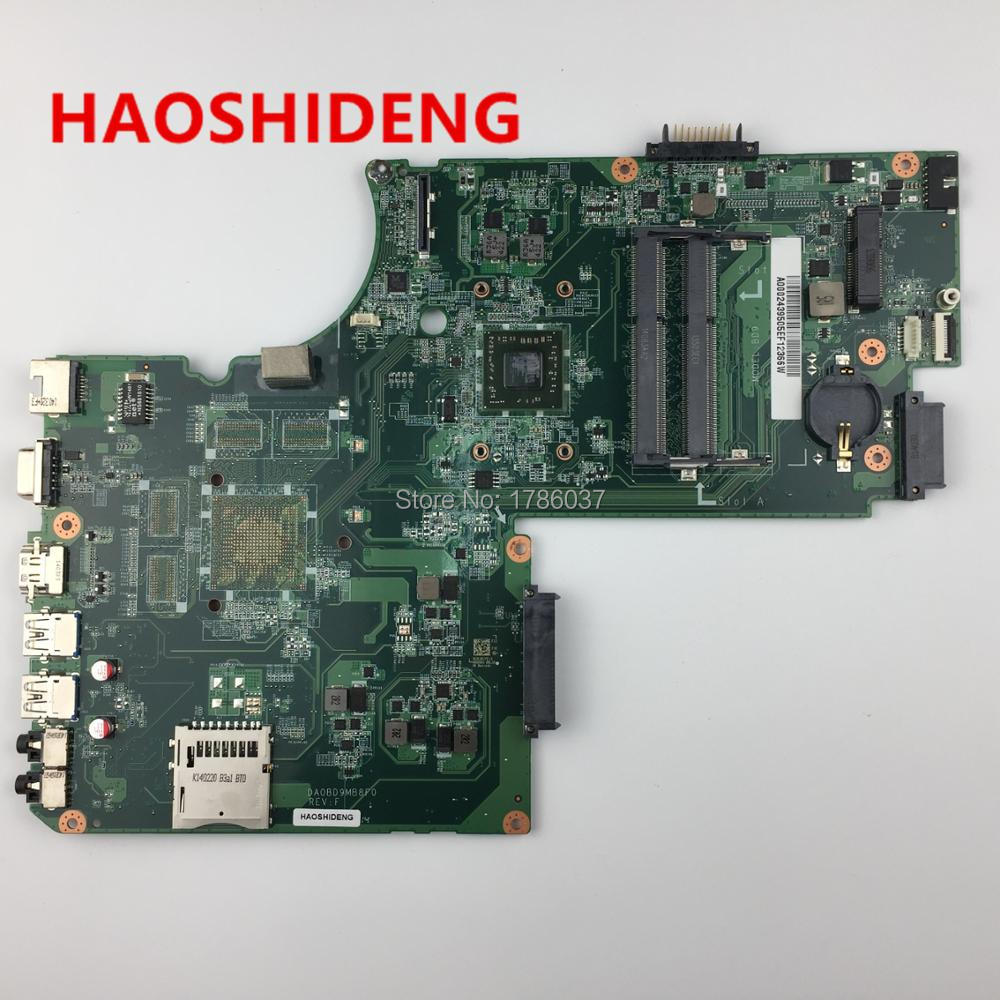 A000243950 DA0BD9MB8F0 for Toshiba Satellite  C70D-A C75D-A Motherboard .All functions fully Tested ! v000138700 motherboard for toshiba satellite l300 l305 6050a2264901 tested good