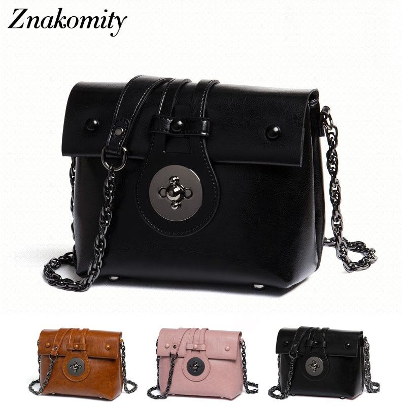 Znakomity Small mini genuine leather messenger bag women's vintage black Small shoulder crossbody bag pink Cross body bag woman цена 2017
