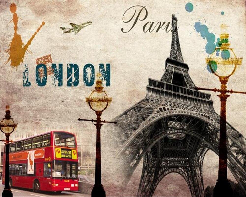 Paris Wallpaper For Bedroom Popular Vintage Paris Wallpaper Buy Cheap Vintage Paris Wallpaper