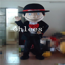 Ohlees blazer suit man Mascot Costume Halloween Christmas party Props Costumes For Adult cartoon animal customize