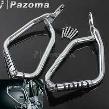 Chrome Motorcycle Highway Crash Bar Engine Guard Bumper Protector for Honda VTX1300 1300C 1300R 1300S 1300T 2002-2009