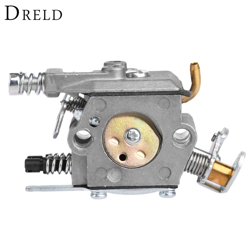 DRELD Chainsaw Carburetor Carb for HUSQ 136 137 141 142 Carburetor Chainsaw Spare Parts Replacement Garden Tool Parts