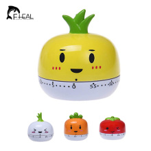 Cute Cartoon Fruit Model Time Calculate Tools Mini Kitchen Cooking Timer 60 Minute Cooking Tools Mechanical Kitchen Timers
