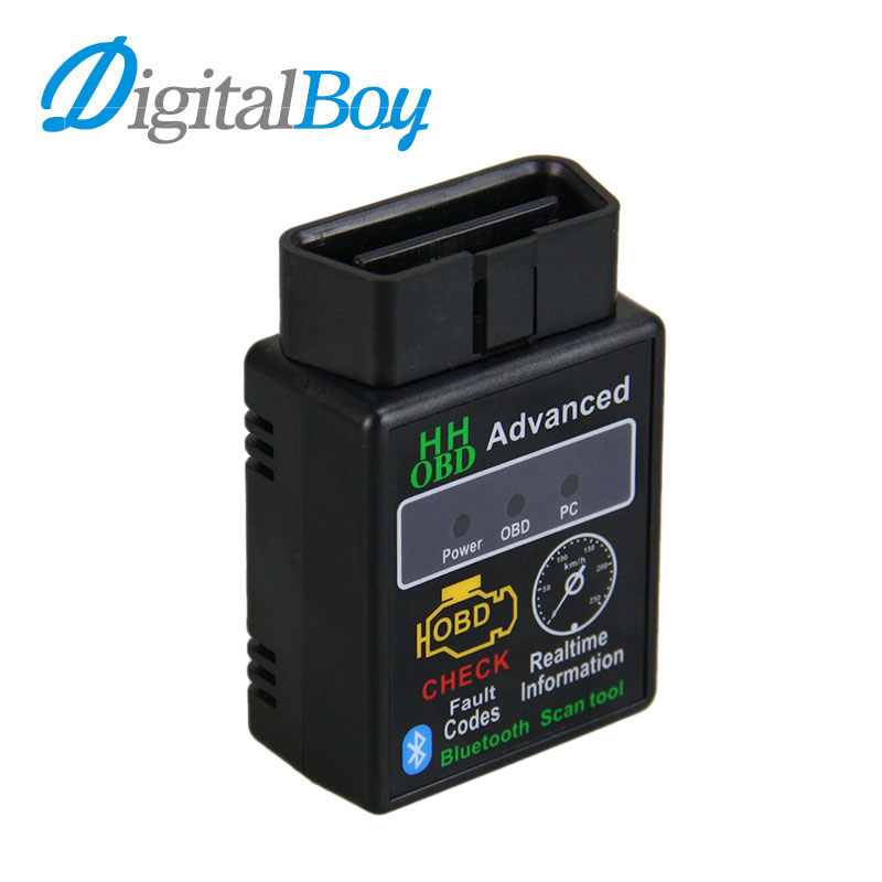 ELM327 Bluetooth OBD2 OBDII CAN BUS Check Engine Car Auto Diagnostic Scanner Tool