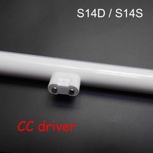 S14D светодиодный светильник linestra S14S интегрированный ламповый настенное зеркало с подсветкой мощный 3 Вт 300 мм 6 Вт 10 Вт 500 мм