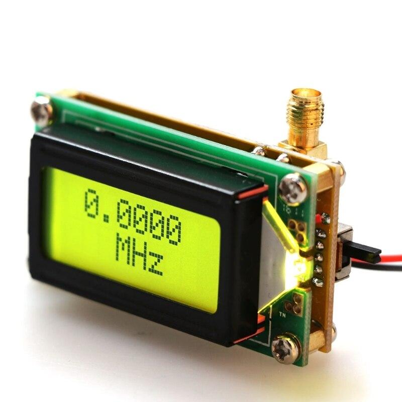 Alta Precisão do Contador de Freqüência 500MHz RF Módulo Medidor Tester Medição Módulo Display LCD
