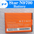 Star N9700 Battery 100% New Original 2500mAh Battery For Star N9700 Smartphone