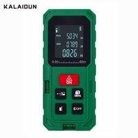 KALAIDUN Laser Distance Compteur Numérique Laser de mesure règle Laser Télémètre 40 M/60 M/80 M/100 M construction surface/volume laser mètre