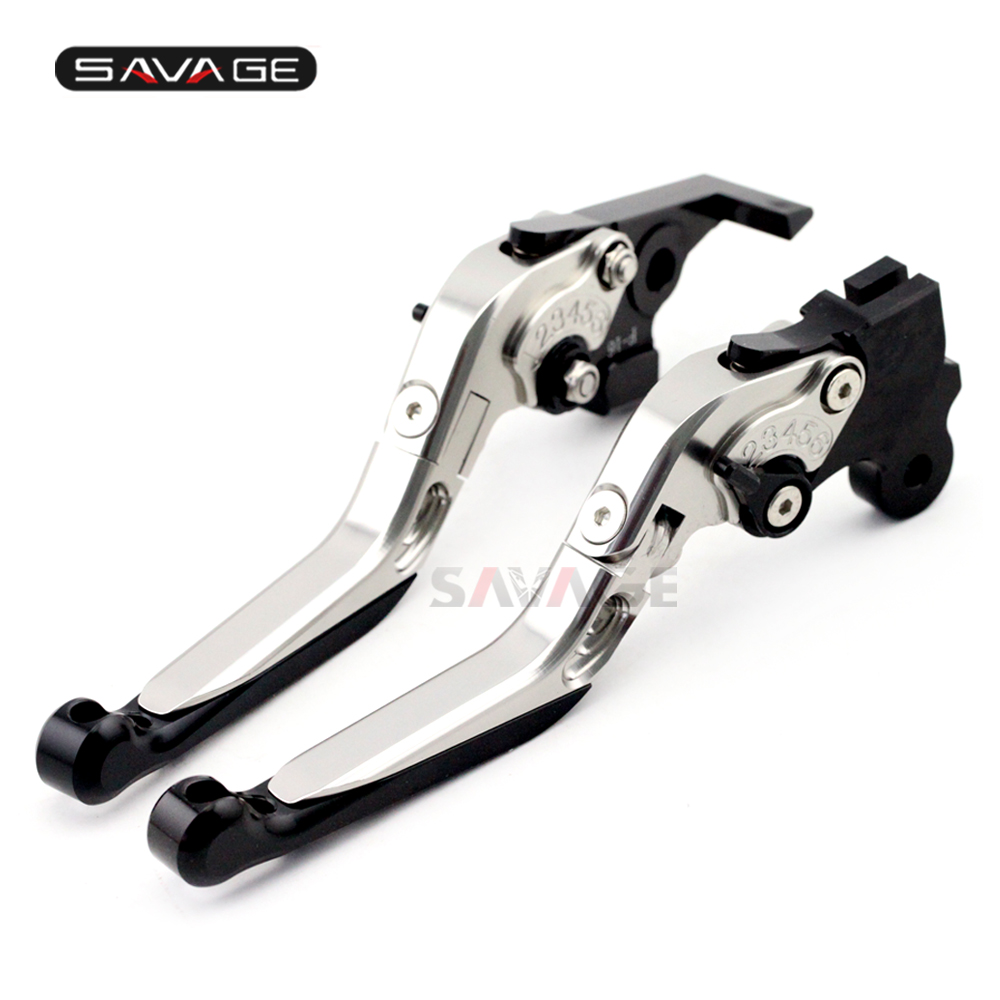 Brake Clutch Lever For BMW F650GS F650CS G650GS G650 Sertao Silver Folding Extendable Adjustable Motorcycle Accessories