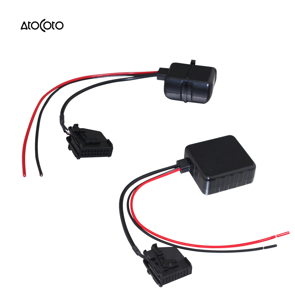 Car Bluetooth Module for VW MFD2 RNS RNS2 Radio Stereo Aux Cable Adapter  with Filter Wireless