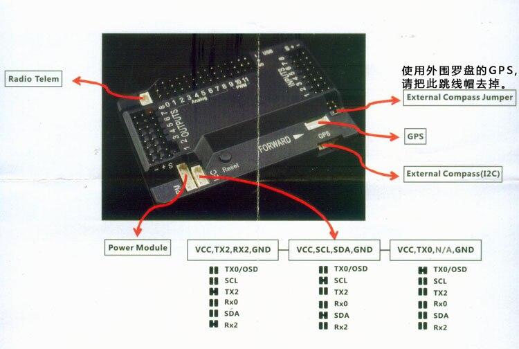 APM Flight Control Combo set APM2 8 6M GPS TX RX 433MHZ 915MHZ Power Module OSD apm flight control combo set apm2 8 6m gps tx rx 433mhz 915mhz apm 2 8 flight controller wiring diagram at letsshop.co