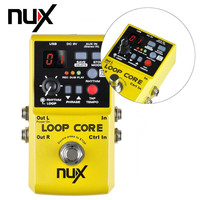 NUX Loop Core Guitar Effects Pedals Looper Extensional Pedal 6 Hours Recording Time 99 User Memories