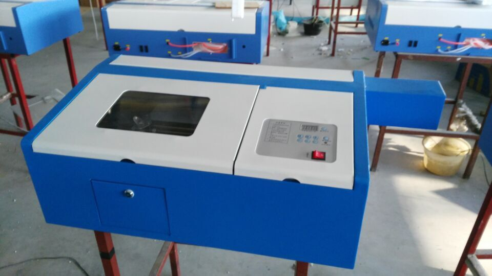 wood laser cutter / acrylic wood laser engraving machine 50 watt