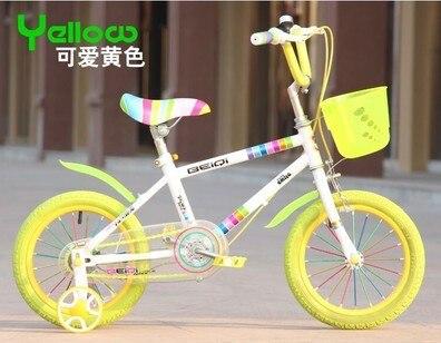 Детские велосипеды велосипеда красочные радуга 12 - 16 дюймов коляска уокер