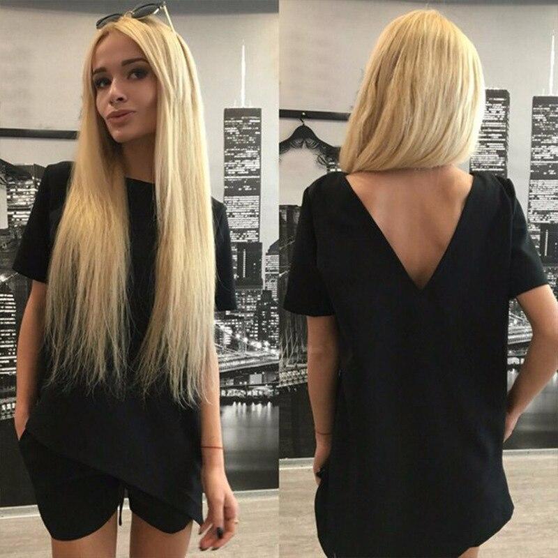 2017 Moterų mados nauji grynos spalvos laisvalaikio kelnės - Moteriški drabužiai - Nuotrauka 4