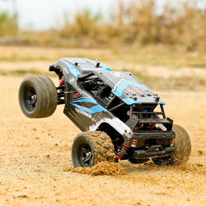 40 + MPH 1/12 échelle RC voiture 2.4G 4WD haute vitesse rapide télécommandé grande piste