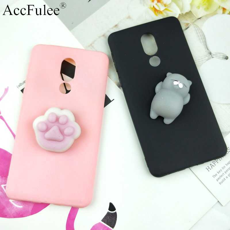 pretty nice 730ed 6fec3 Cute Toys Squishy Case For Huawei Mate 10 Lite Funny Cat Cases For Huawei  Nova 2i Honor 9i Phone Bags Cover