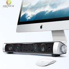 Bluetooth Speaker Wireless Stereo Soundbar Mini Portable Sound bar Audio Support Handfree TF Card AUX-in Enceinte Sono Surround