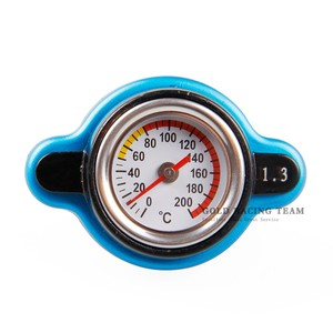 Image 4 - Free Shipping Temperature Gauge with Utility safe 0.9 and 1.1 and 1.3 bar Thermo Radiator Cap Tank Cover without logo