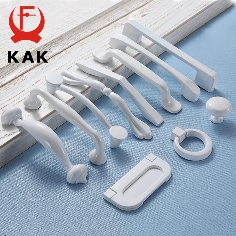 Aluminum Modern Kitchen Cabinet Door Handles Drawer Pulls Knobs Bar Hardware