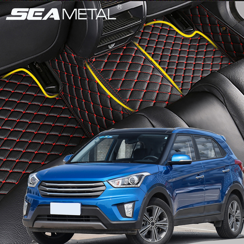For Hyundai Creta IX25 2014 2015 2016 2017 LHD Custom Car Floor Mats Car Interior Goods