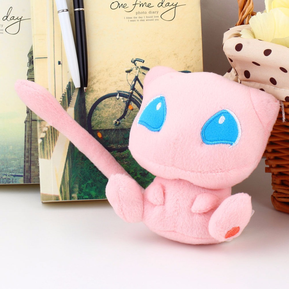 12cm Doll Mew Plush Toy Stuffed Dolls Plush Doll Gifts For Children