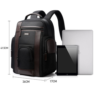 Image 5 - BOPAI New Black Multi Pocket Men Backpack Business Solid Nylon Men Daypacks Mochila Bags Convenient USB Charging Backpack Women